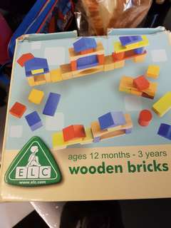 Used wooden bricks for sale