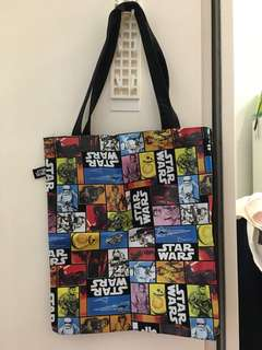 Star Wars tote bag (mint condition)