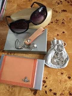 Vivienne Westwood 太陽眼鏡,咭片套、匙扣、電話繩