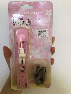 Hello kitty stapler and bullet