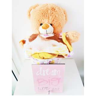 Angel Bear Gift Basket