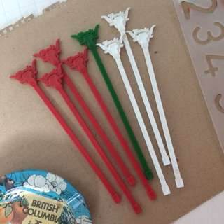 'Gandy' Vintage Stirrers