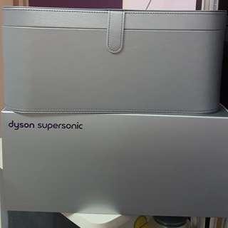 DYSON hairdryer platinum box/casing