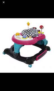Bubbles 3 in 1 baby walker (like new)