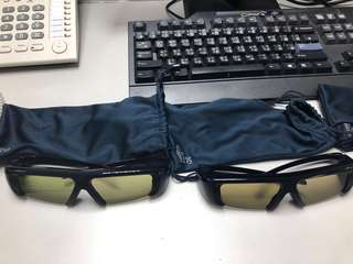 Samsung 3D active glasses 4 pairs
