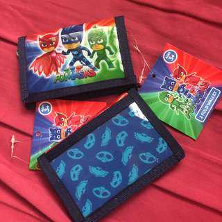 🚚 PJ masks 2 fold wallet
