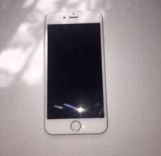 Silver iPhone 6 16gb UNLOCKED