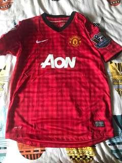 Manchester United Jersey 12/13 Boys XL