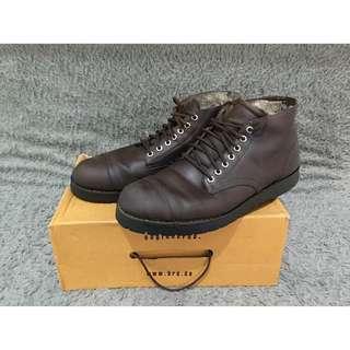 Sepatu Boots Kulit Asli merk BRODO