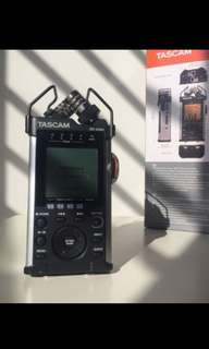 Tascam DR-44WL Linear PCM 4 track Recorder with wifi control via apps