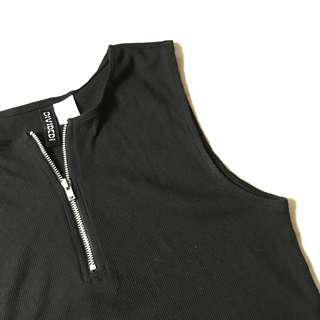 H&M Black Sleeveless Top