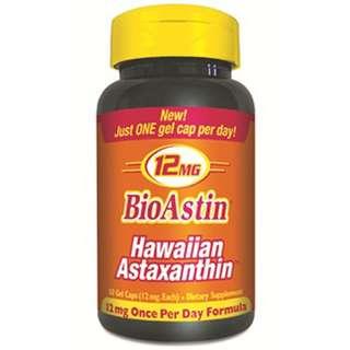 Nutrex Hawaii BioAstin Hawaiian Astaxanthin 12 mg 50 Gel Caps
