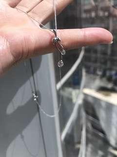清貨!單咀價Pendant Only 18k dia pendant