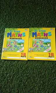 In Step Maths Workbook 1B Part 1 and Part 2 Teacher's Edition