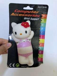 Hello kitty wrist supporter