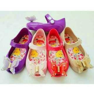 Sepatu anak Jelly Kupu-kupu
