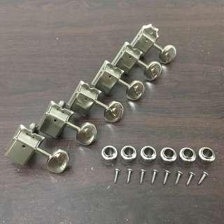 Vintage Style Guitar Machine Head Tuner (Nickel)