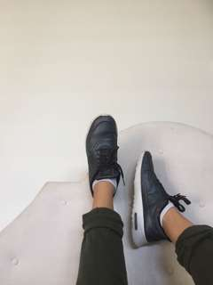 Nike black and white air max Thea's runners/shoes