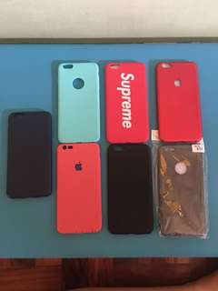 Assorted cases for iphone 6s plus