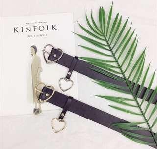love buckle belt