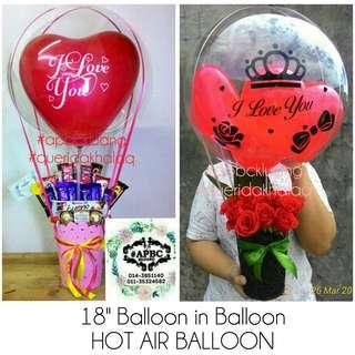 Chocolate Bouquet - Hot Air Balloon