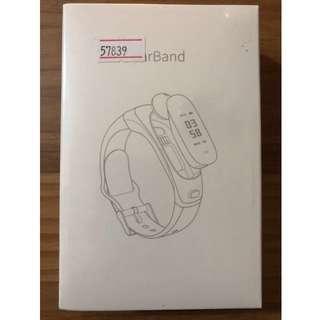 Wristband watch_BNIB_black colour_pedometer fitness tracker