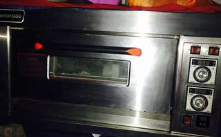 VIBROFOOD Gas Oven 1 Door 1 Tray