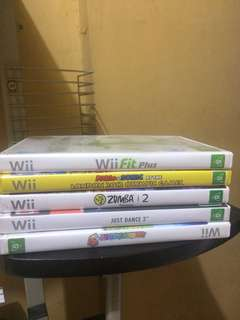 Wii Video Games (Take All)