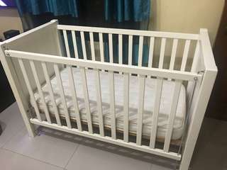 Preloved Baby Crib