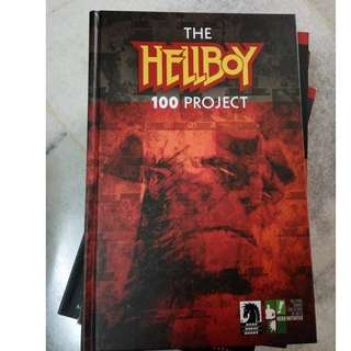 The Hellboy 100 Project (Dark Horse comics) Harcovered
