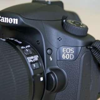 Camera Legend Canon 60D bisa di cicil free1x angsuran dp1juta (nikon)