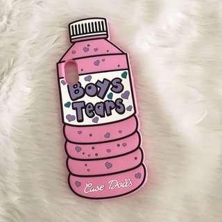 Boys tears bottle case