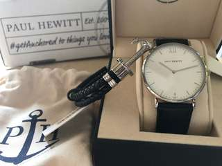Paul Hewitt watch and bracelet for men 100% New