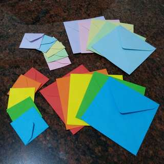 Handmade square envelopes (made-to-order)