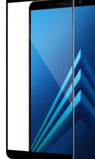 Samsung A8+ 全屏 鋼化玻璃膜
