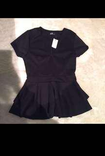 New Dotti peplum top