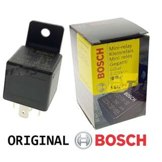 Original Bosch Auto Mini Relay 12V 30A 5 Pin Heavyduty Car Horn Relay