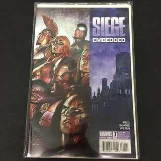 Siege Embedded 1 Marvel Comics Book Avengers Movie