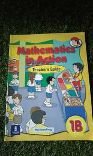 Mathematics In Action Teacher's Guide 1B