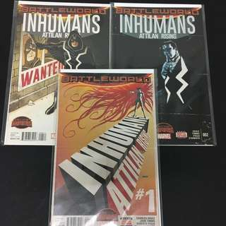 Inhumans: Attilan Rising 1 2 4 Marvel Comics Book TV Movie