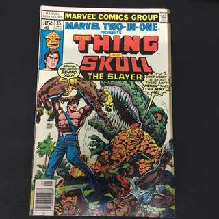 Marvel Two In One 35 Comics Book Fantastic Four Movie