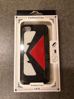 iPhone 7 faux leather case