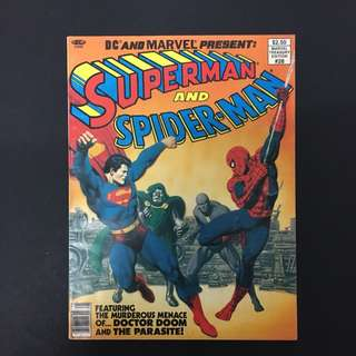 Marvel DC Treasury Edition 28: Superman & Spiderman Comics Book Avengers Justice League Movie