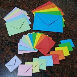 Handmade envelopes (made-to-order)
