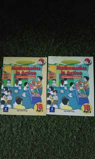 Mathematics in Action Workbook 1B part 1 & 2 Teacher's edition