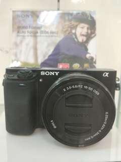 Sony A6000 Lens Kit Promo Gratis 1X Cicilan Tanpa Kartu Kredit Proses 3 menit