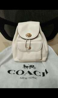 Coach Mini Bag Turnlock Backpack