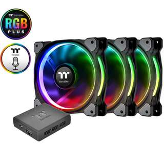 Thermaltake Riing PLUS 14 RGB Radiator Fan Premium Edition - 3 Pack