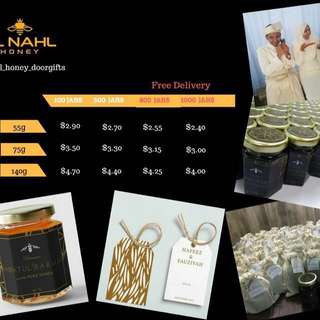 El Nahl honey for your door gifts