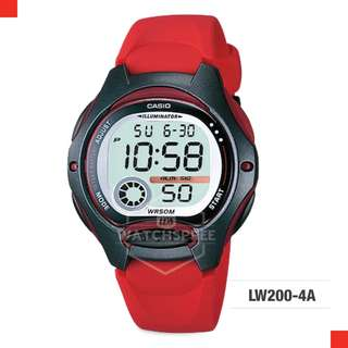 FREE DELIVERY *CASIO GENUINE* [LW200-4A] 100% Authentic with 1 Year Warranty! LW-2004A LW-200-4A LW2004A